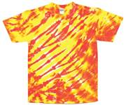 Image for Lemon Yellow/Orange Tiger Stripe