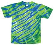 Image for Lime/Royal Tiger Stripe